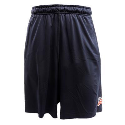 Front (Nike USA Hockey Fly Short 2.0 - Adult)