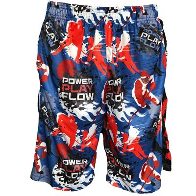 Rangers Blue (Flow Society Power Play Shorts - Youth)