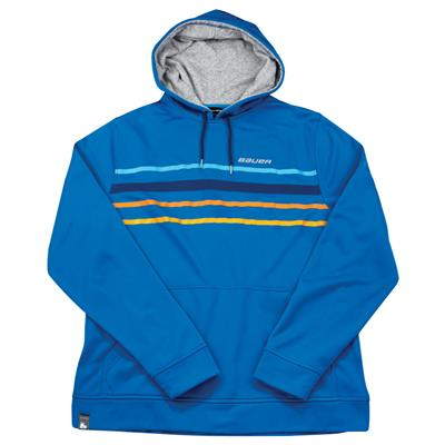 (Bauer Striped Pullover Hoodie - Adult)