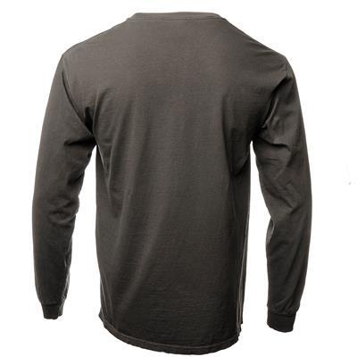 Back (Everyday Long Sleeve Tee Shirt Black - Adult)