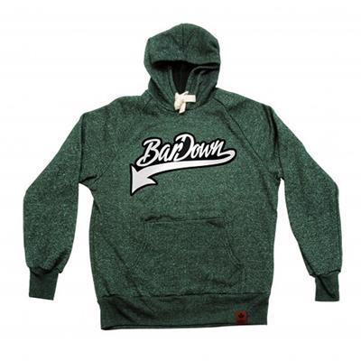 Green (BarDown Vintage Hoodie - Adult)