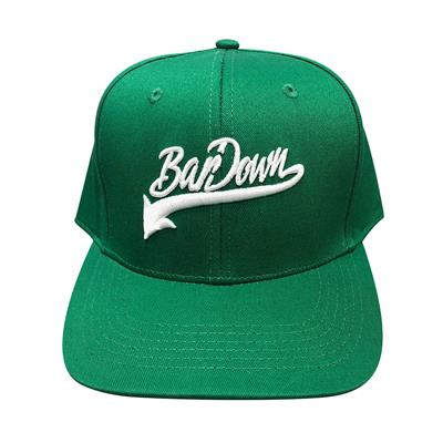 Green (BarDown Vintage Snapback Cap - Adult)