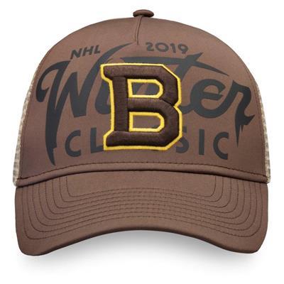 (Fanatics Bruins Winter Classic Trucker Cap - Adult)
