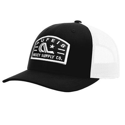 (Goaler Cap - Black/White - Adult)