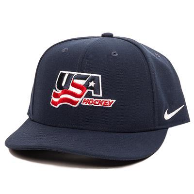 (Nike USA Hockey Core True Adjustable Cap - Adult)