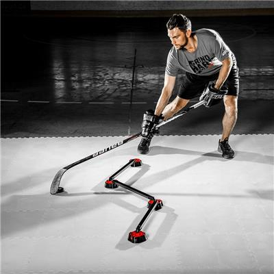 (HockeyShot Speed Deke Stickhandling Trainer)