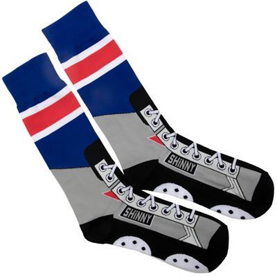 (Toe Drag Apparel New York Shinny Skins Socks - Adult)