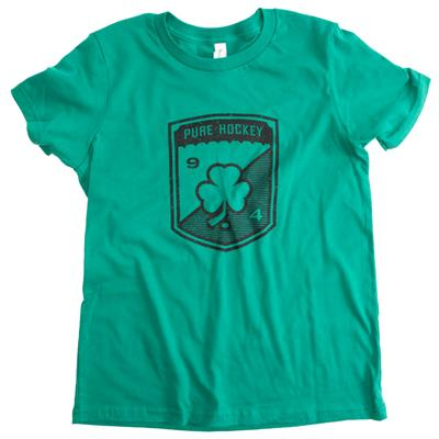 Front (Pure Hockey 2019 St. Paddy's Day Short Sleeve Tee Shirt - Youth)