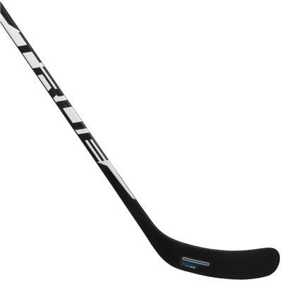 Backhand Blade (TRUE XCore XC9 UFlex 40 Grip Composite Hockey Stick 2019 - Junior)