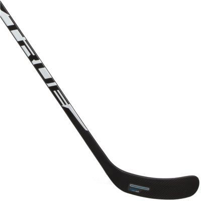 Backhand Blade (TRUE XCore XC9 UFlex 30 Grip Composite Hockey Stick 2019 - Youth)