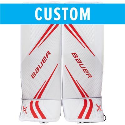 1429888014e (Bauer Custom Vapor 2X Pro Goalie Leg Pads - Senior)