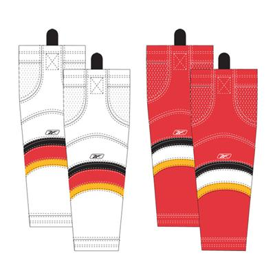 Senior (Reebok Calgary Flames Edge SX100 Hockey Socks)