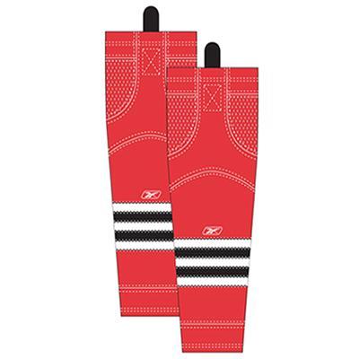 Home/Dark (Reebok Chicago Blackhawks Edge SX100 Hockey Socks)