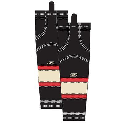 Third (Reebok Chicago Blackhawks Edge SX100 Hockey Socks)