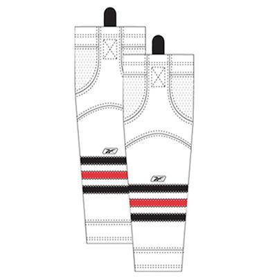 Away/White (Reebok Chicago Blackhawks Edge SX100 Hockey Socks)
