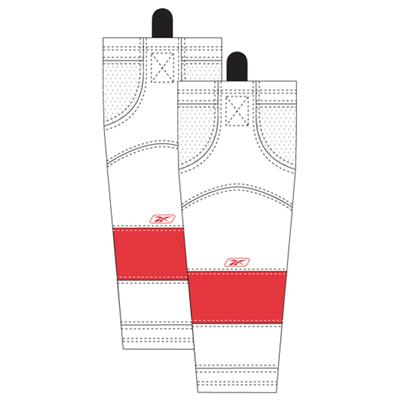 Away/White (Reebok Detroit Red Wings Edge SX100 Hockey Socks)