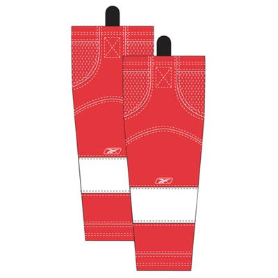 Home/Dark (Reebok Detroit Red Wings Edge SX100 Hockey Socks)