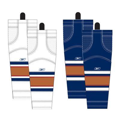 Junior (Reebok Edmonton Oilers Edge SX100 Hockey Socks)