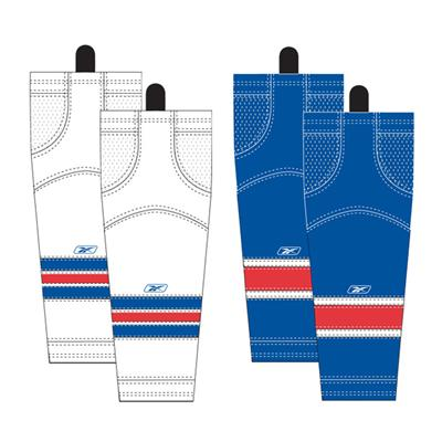 Junior (Reebok New York Rangers Edge SX100 Hockey Socks - Junior)