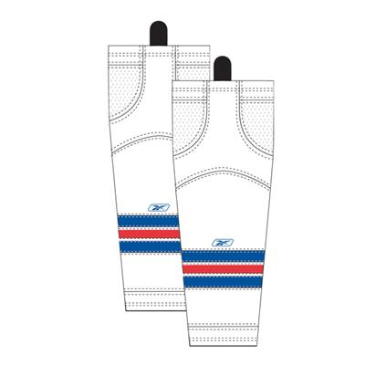 Away/White (Reebok New York Rangers Edge SX100 Hockey Socks - Junior)
