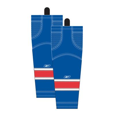 Home/Dark (Reebok New York Rangers Edge SX100 Hockey Socks)
