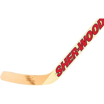Intermediate (Sher-Wood 530 Wood Goalie Stick)