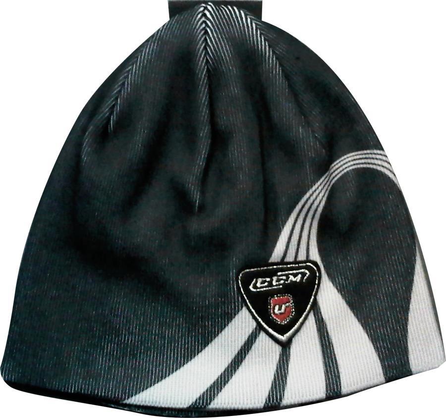 7c86508a04a Black (CCM Curve Knit Beanie Winter Hat)