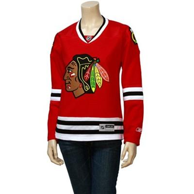 Home/Dark (Reebok Chicago Blackhawks Premier Jersey HOME - Womens)