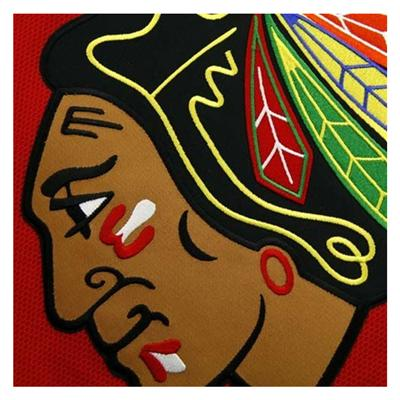 Logo (Reebok Chicago Blackhawks Premier Jersey HOME - Womens)
