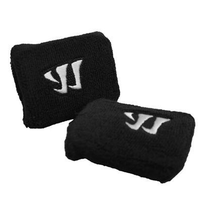 Black (Warrior Padded Wrist Slash Guards with Plastic)