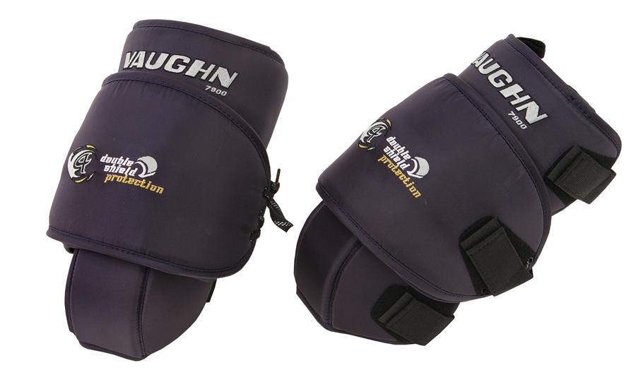 9943b28099a Navy (Vaughn 7900 VKP Goalie Knee And Thigh Guards - Senior)