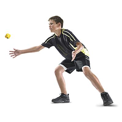 Reaction ball in action (SKLZ Reaction Ball)