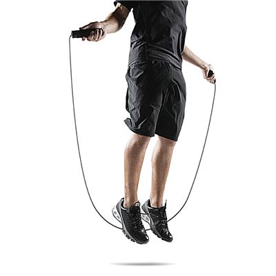 Rope in action (SKLZ Weighted Speed Jump Rope)