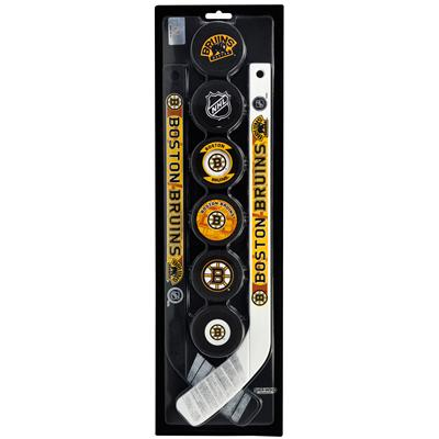 Boston (InGlasco NHL 6 Pack Puck and Stick)
