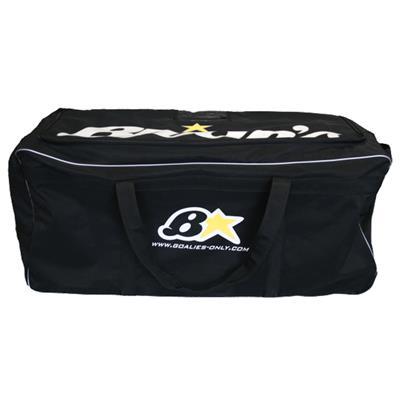 Black (Brians Star Goalie Wheel Bag)