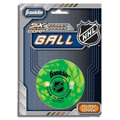 Glow in the dark (Franklin Glow In The Dark Street Hockey Ball)
