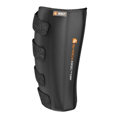 Calf And Shing Wrap; Front View (Shock Doctor 857 Calf & Shin Wrap Supporter - Senior)