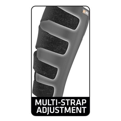 Multi-Strap Adjustment (Shock Doctor 857 Calf & Shin Wrap Supporter - Senior)