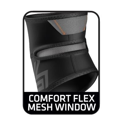 Comfort Flex Mesh Window (Shock Doctor 829 Elbow Compression Sleeve with Compact Coverage - Senior)