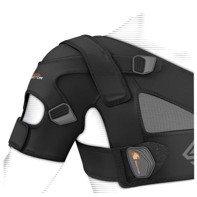 Senior (Shock Doctor 842 Shoulder Support with Stability Control Strap System - Senior)