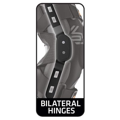 Bilateral Hinges (Shock Doctor 875 Ultra Knee Support with Bilateral Hinges)