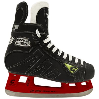 Red (Graf CUSTOM Ultra G5 XI Ice Skates)