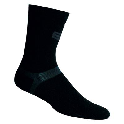 Black (Elite Hockey Pro X700 Ultra Bamboo Calf Length Socks - Adult)