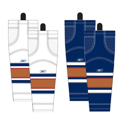 Intermediate (Reebok Edmonton Oilers Edge SX100 Hockey Socks)