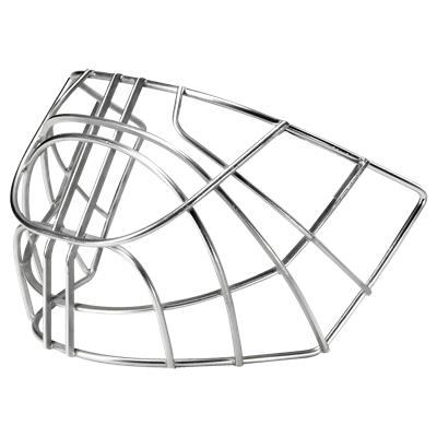 Chrome (Bauer NME / Concept Certified Cat Eye Replacement Goalie Cage)