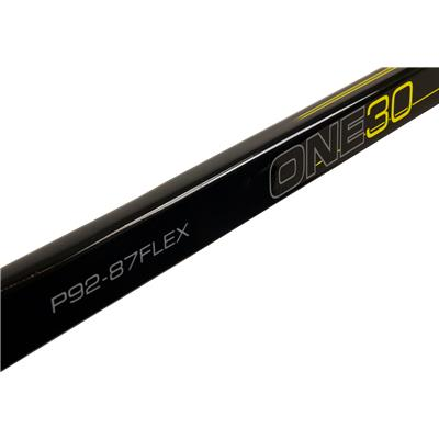 One30 Logo (Bauer Supreme One30 LE Composite Stick)