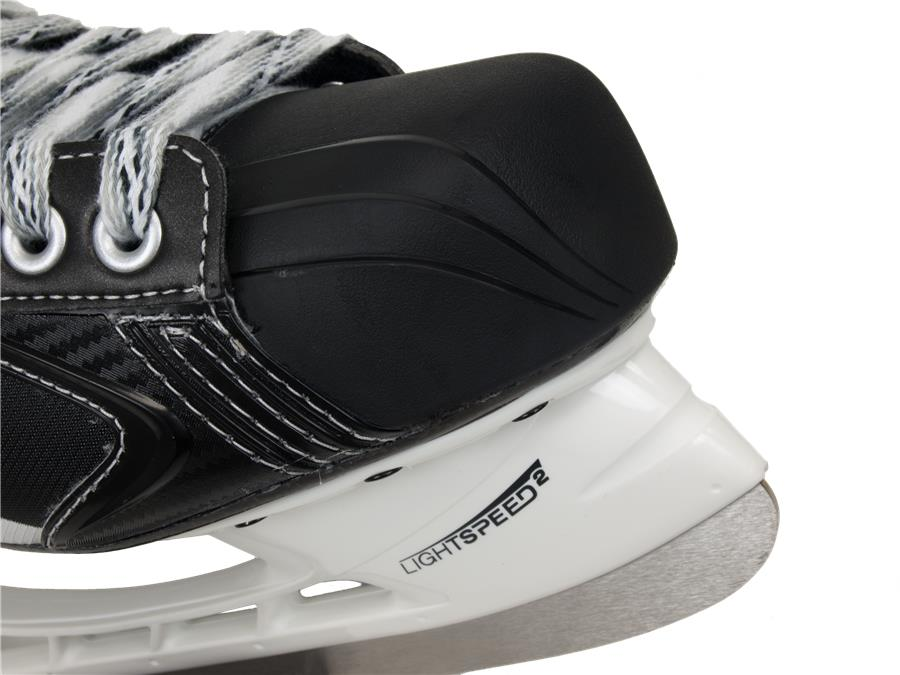 aa1edd7ffcd Contoured Toe Cap Adds Style And Looks Great (Bauer Vapor X 7.0 LE Ice  Skates