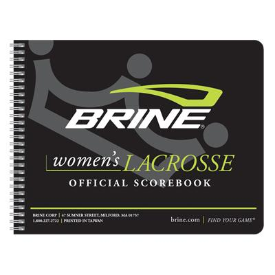 Cover Style May Vary (Brine Women's Lacrosse Score Book)