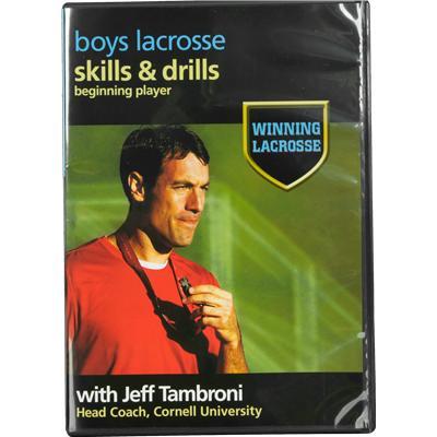 Beginner DVD - Volume 1 - Front Cover (Brine Winning Lacrosse DVD - Beginner)
