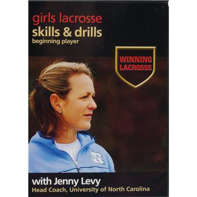 Womens DVD - Beginner - Front Cover (Brine Womens Lacrosse DVD - Beginner)